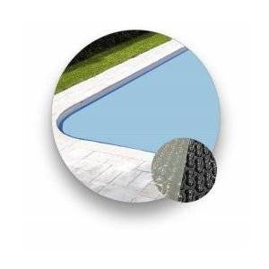 Bâche à bulle 500 µ Geobubble coque Alliance ammonite : 9.5 x 4.1 m - Publicité
