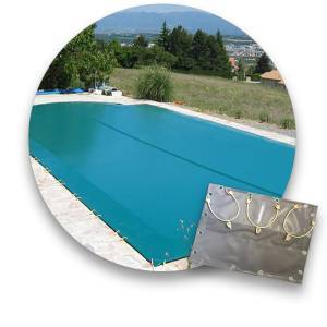 Excel Bâche d'hiver pour piscine coque Excel : modèle SYMPHONY 90 - Publicité