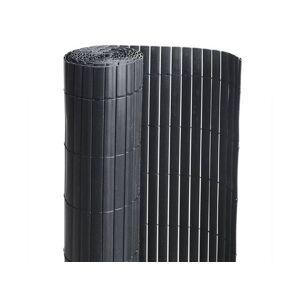 Canisse PVC double face noir : 1m80 x 3m - Publicité