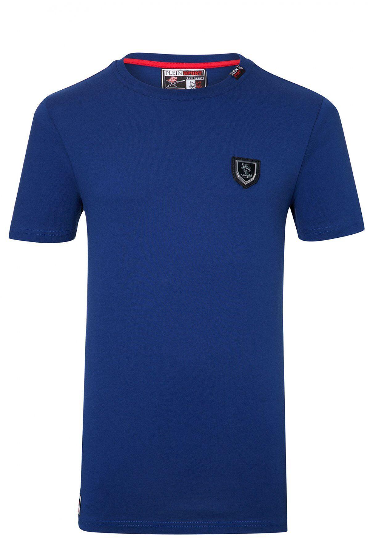 Plein Sport Tee Shirt Coton Uni ...