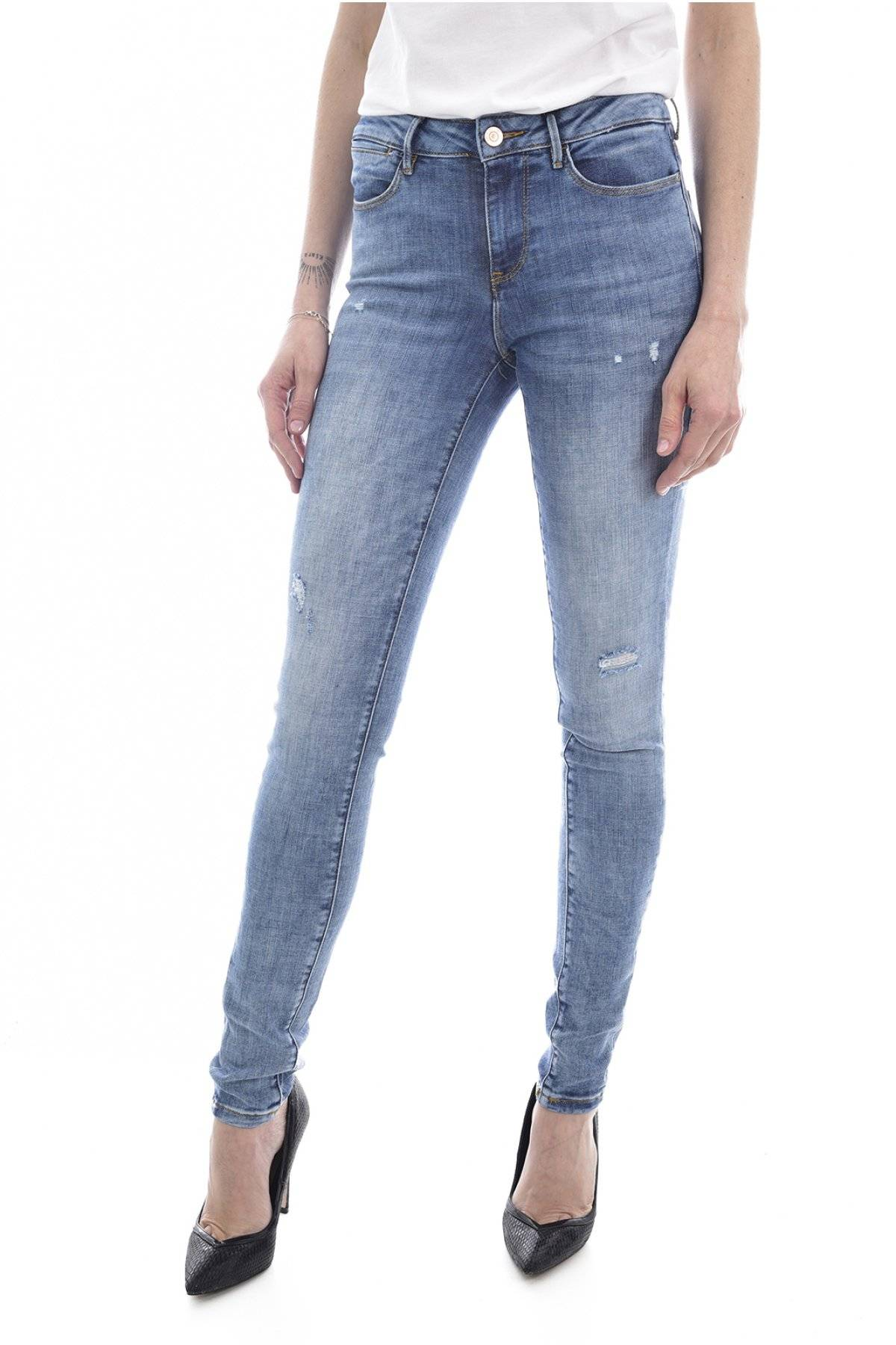 Guess jeans Jean Stretch Ultra Skinny Jegging Mid  -  Guess Jeans