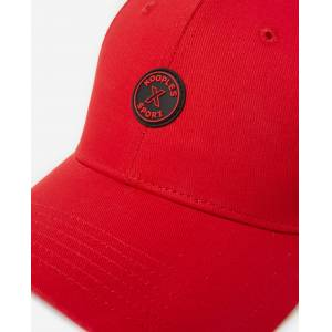 THE KOOPLES SPORT The Kooples - Casquette coton rouge badge logo gomme - HOMME