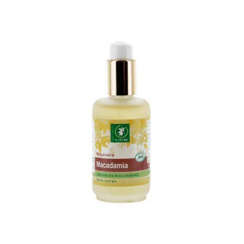 Boutique Nature Huile végétale de Macadamia BIO - 50 ml - Boutique Nature