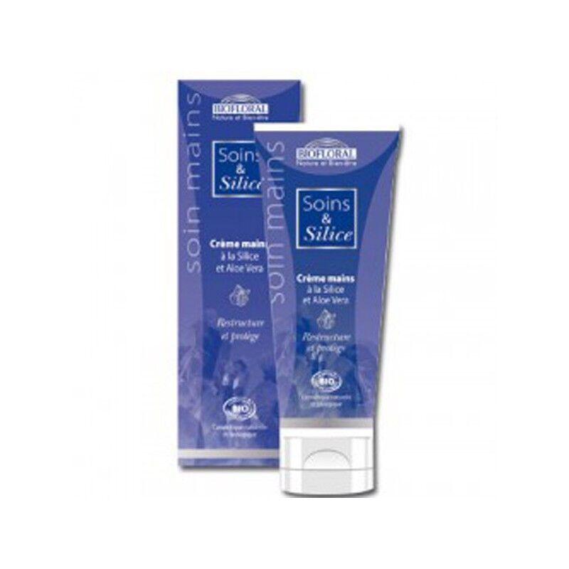 Biofloral Crème mains à la Silice et Aloé Véra - 50 ml Biofloral