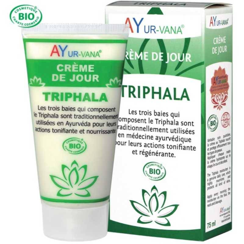 AYur-vana Crème Triphala visage Bio : antioxydante, anti-âge
