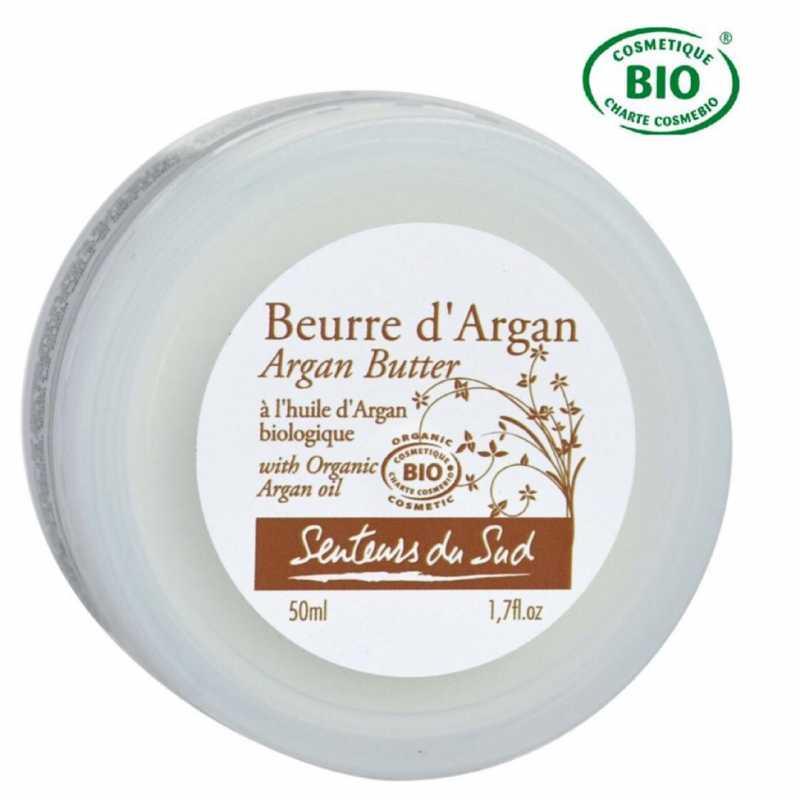 Senteurs du Sud Beurre à l'huile d'argan Bio -50ml-Senteurs du Sud