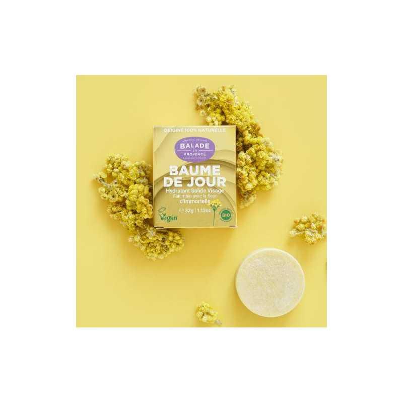 Balade en Provence Baume de Jour Bio Solide - 32 g - Balade en Provence