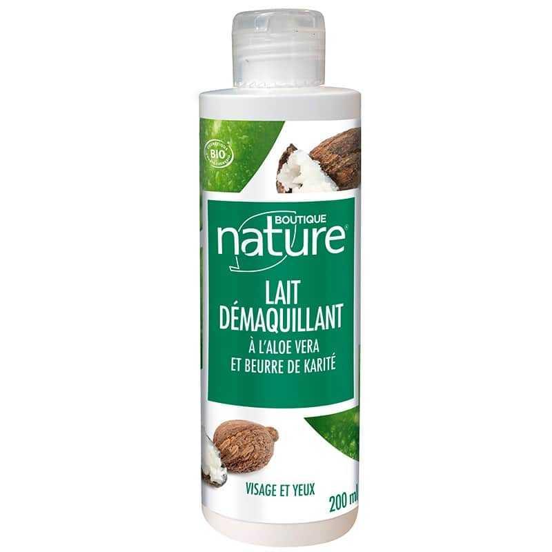 Boutique Nature Lait démaquillant hydratant Bio - 200 ML - Boutique Nature