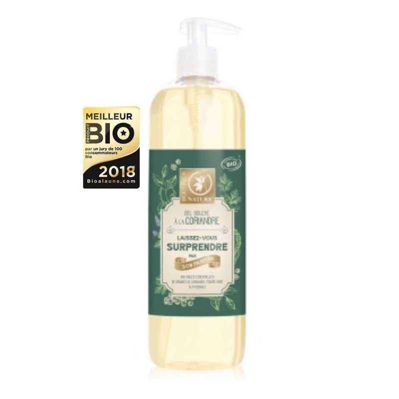 Boutique Nature Gel douche à la coriandre - Bio - 500 ml - Boutique Nature
