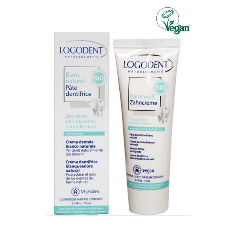 Logona Dentifrice blancheur Bio - 75 ml - Logona