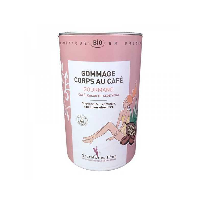 Secrets des Fées Gommage Corps au Café Gourmand Bio - 200 g - Secrets des Fées -
