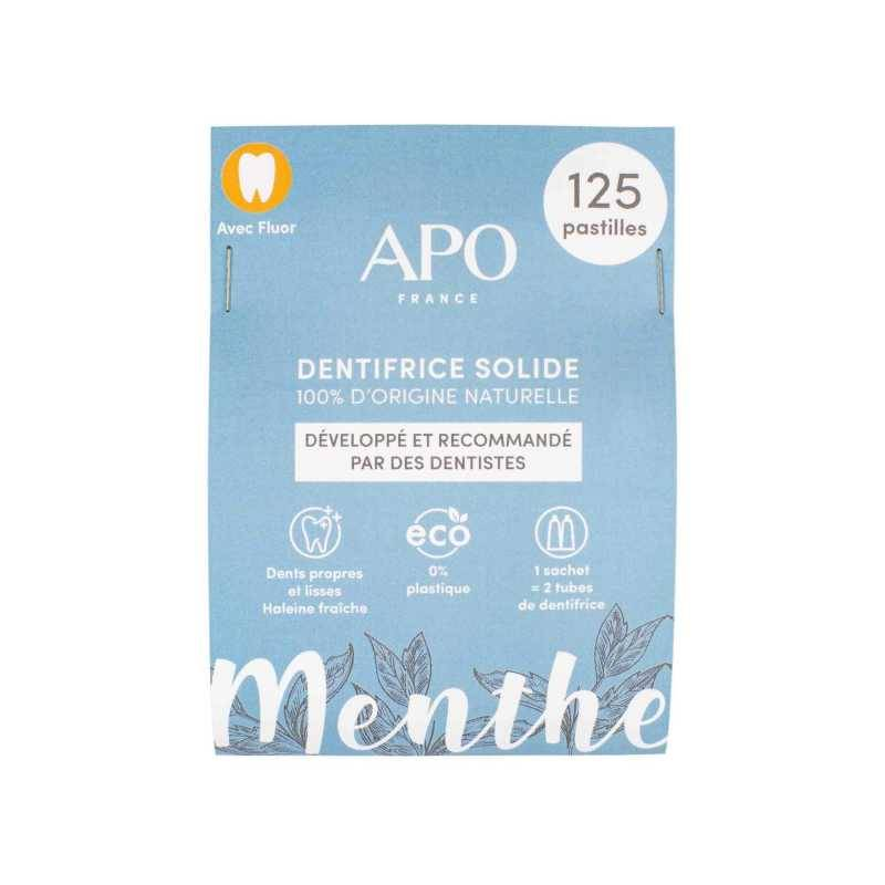 APO Dentifrice solide - 125 pastilles - APO