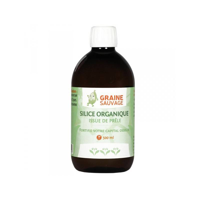 Graine Sauvage Silice, Extrait de Prêle - Graine Sauvage - 500 ml