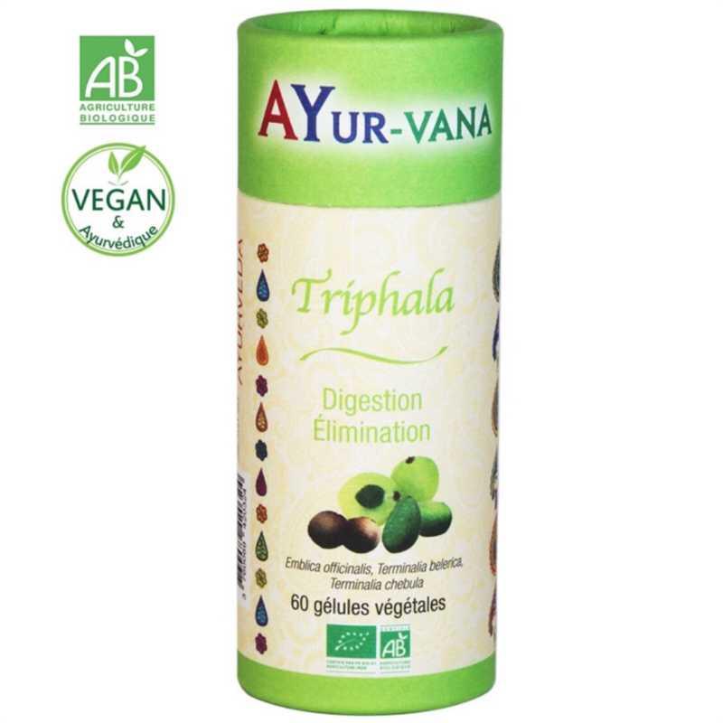 AYur-vana Triphala bio, 60 gélules - AYURvana