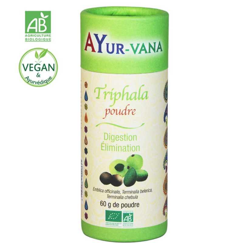 AYur-vana Triphala bio (en poudre) - 60 g - AYur-vana