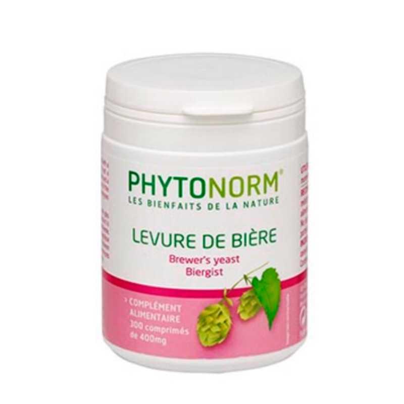 Phytonorm Levure de bière : santé de la peau, des cheveux et des ongles
