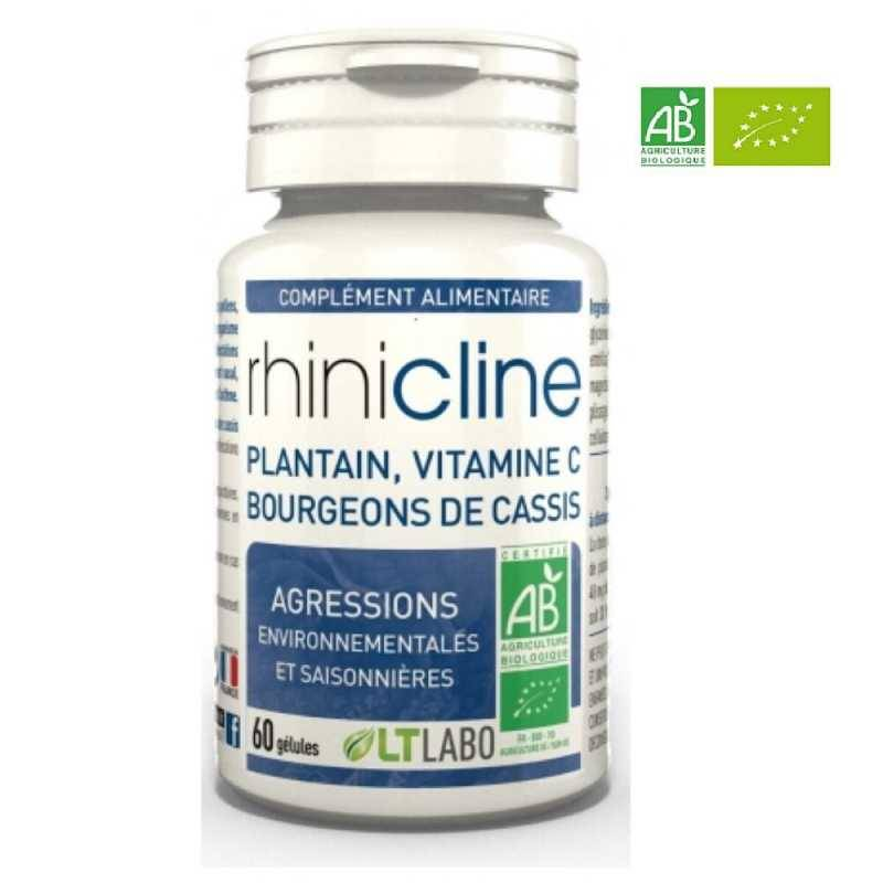 LT Laboratoire Rhinicline Bio - 60 gélules - Lt Labo