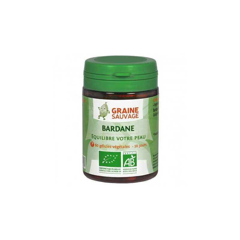 Graine Sauvage Bardane Bio - 60 gélules - Graine Sauvage