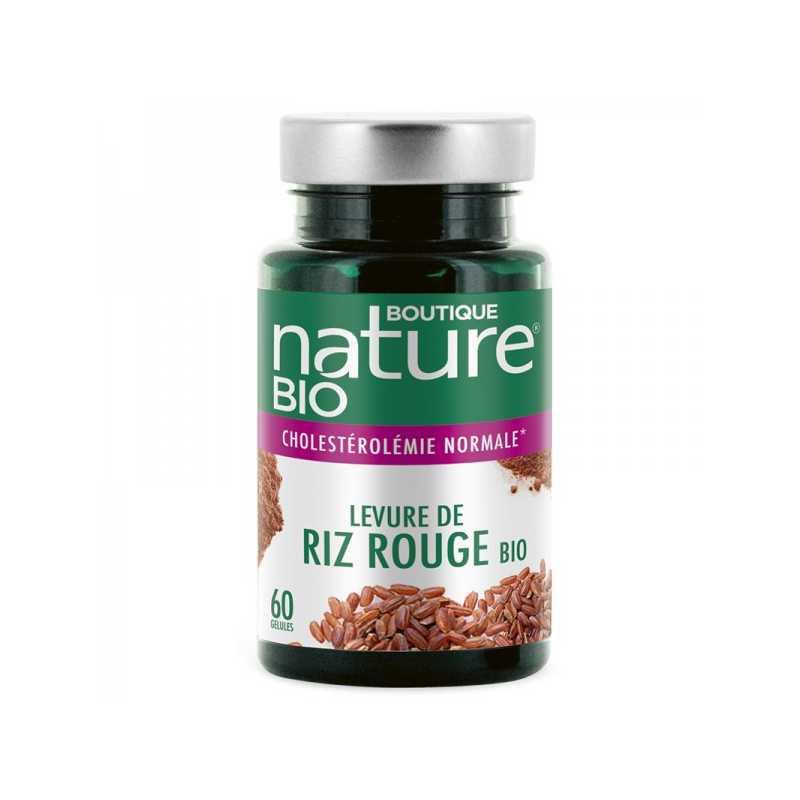 Boutique Nature Levure de riz rouge bio - 60 gélules - Boutique Nature