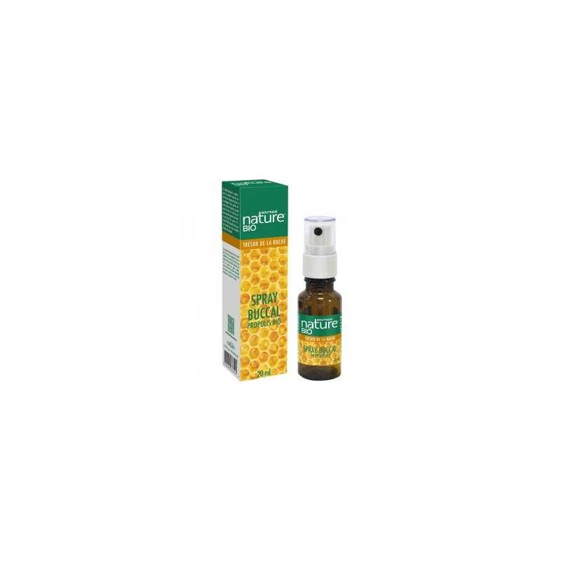 Boutique Nature Spray buccal propolis BIO - 20 ml - Boutique nature