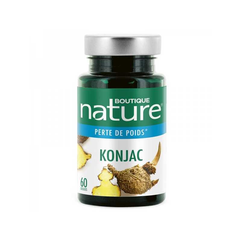 Boutique Nature Konjac - 60 gélules - Boutique Nature