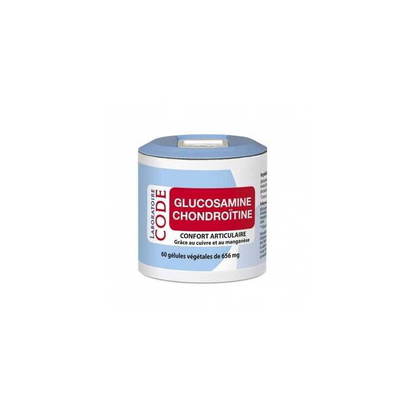 Laboratoire Code Glucosamine / Chondroïtine - 60 gelules -Laboratoire Code