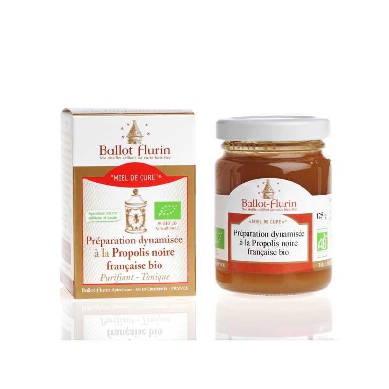 Ballot - Flurin Miel de Cure® Bio - Préparation miel de sapin & propolis fraîche : Ballot - Flurin