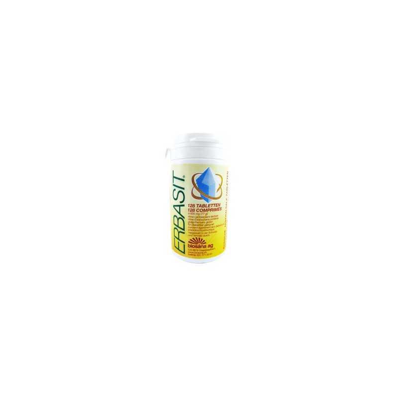 Biosana Erbasit - sans lactose - sans gluten - 128 comprimés - Biosana