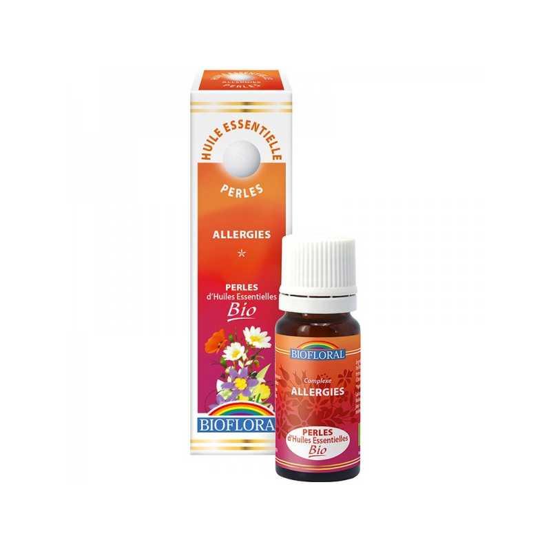 Biofloral Perles essentielles Bio - Allergies - 20 ml - Biofloral