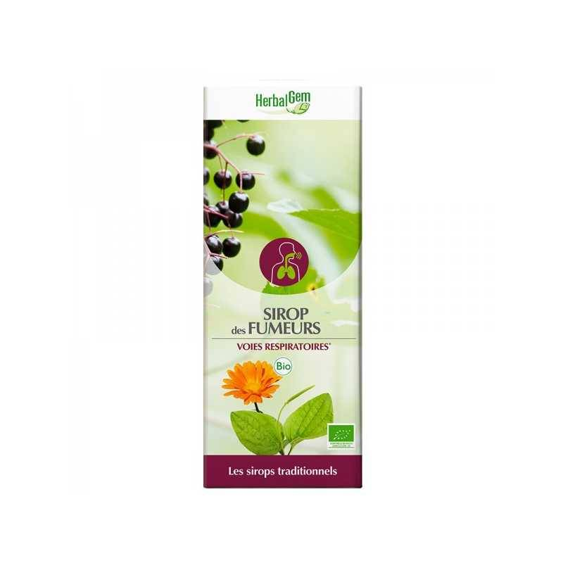 HerbalGem Sirop des fumeurs Bio - 250 ml - Herbalgem -