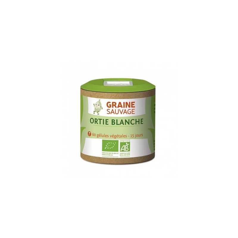 Graine Sauvage Ortie Blanche Bio - 60 gélules - Graine Sauvage -