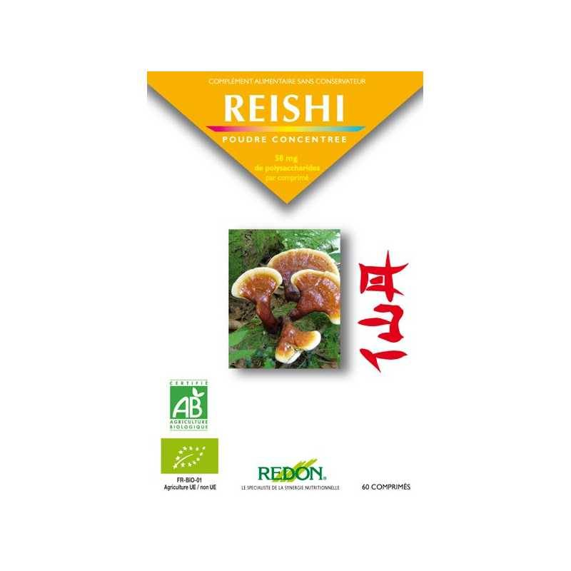 Laboratoire Redon Reishi Bio - 60 comprimés - Redon -
