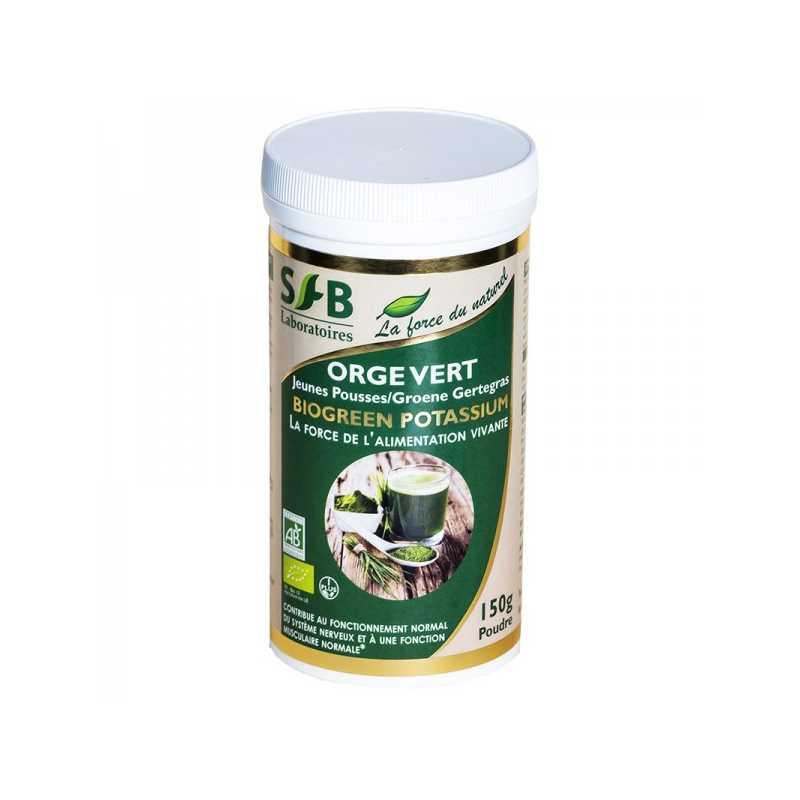 Laboratoire SFB Orge vert Bio - jeunes pousses - 150 g - SFB -