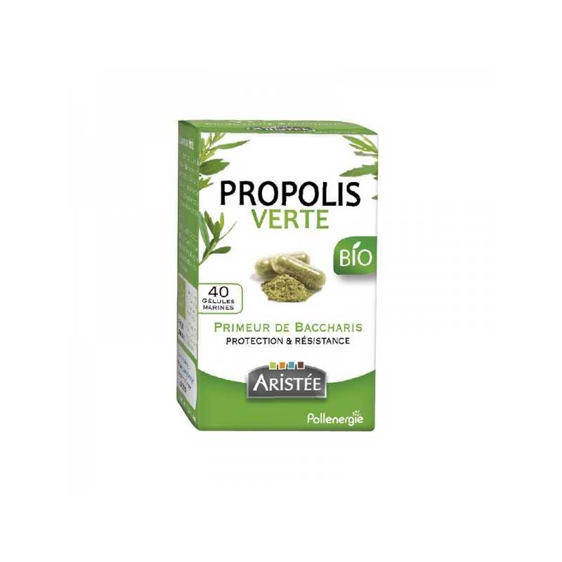Aristée Propolis verte de Baccharis Bio - 40 gélules - Aristée -