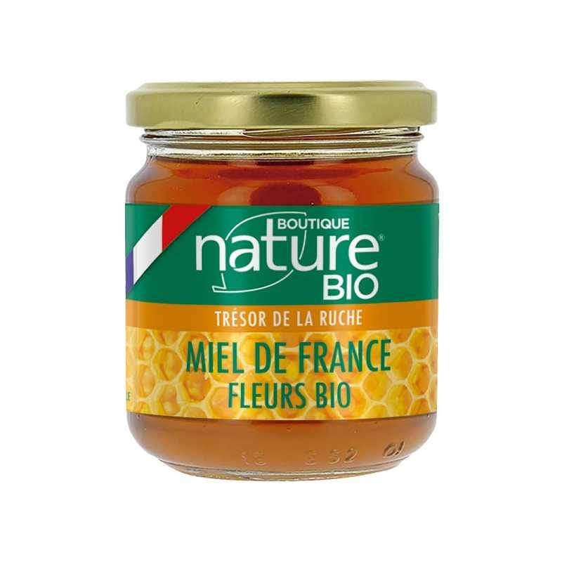 Boutique Nature Miel de Fleurs Bio France - 250 g - Boutique nature