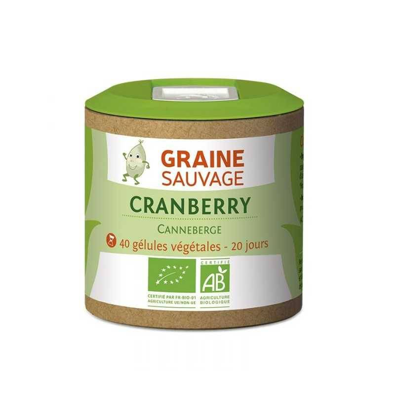 Graine Sauvage Cranberry Bio - 40 géls - Graine Sauvage