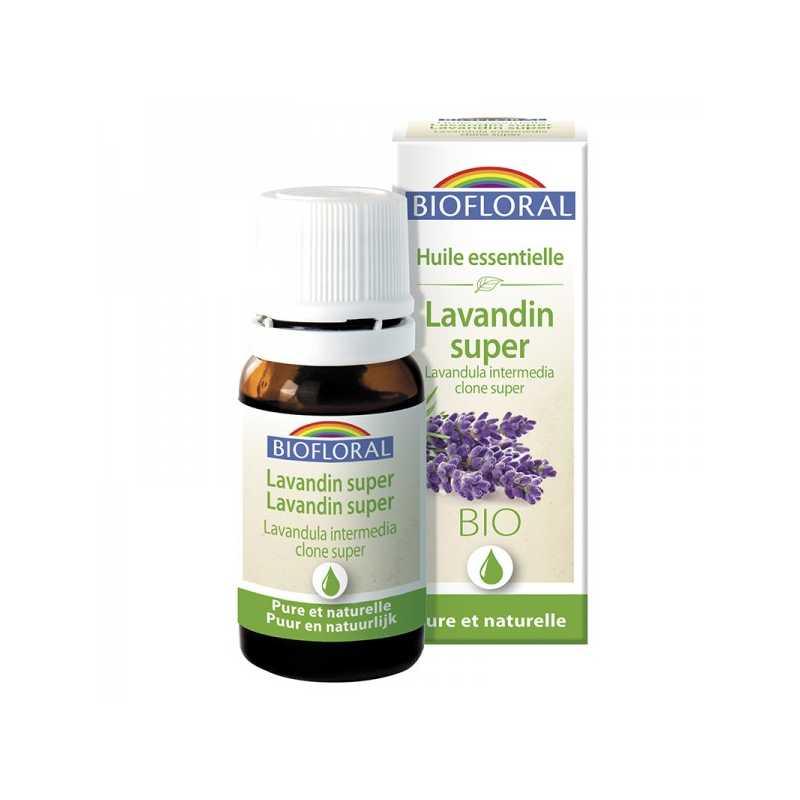Biofloral Lavandin super - Huile essentielle Bio -Biofloral