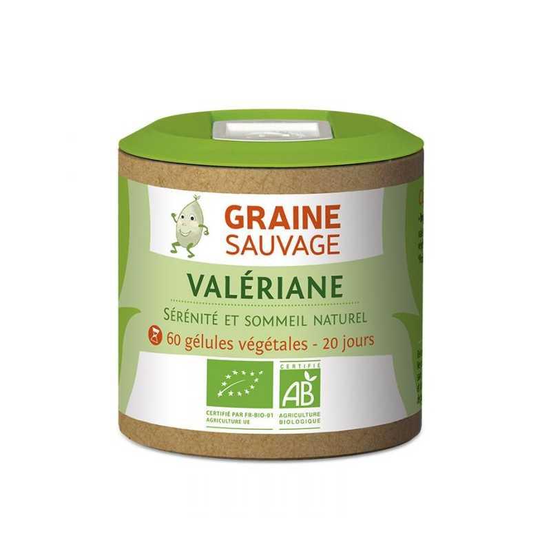 Graine Sauvage Valériane Bio - Graine Sauvage- 60 gélules