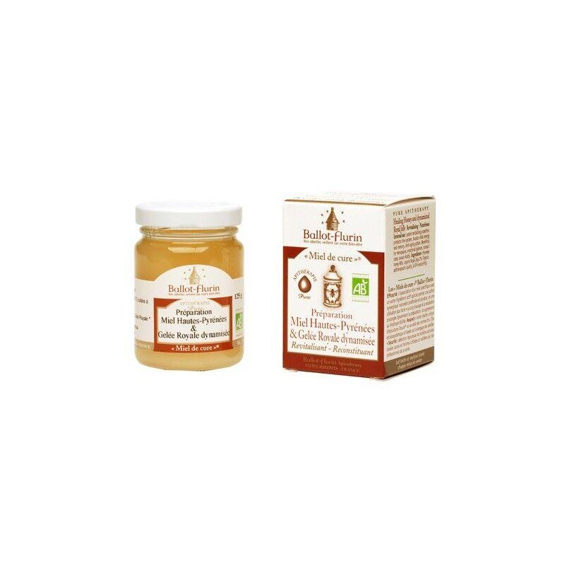 Ballot - Flurin Miel de Cure® Bio - 125 g - préparation miel des Hautes Pyrénées & Gelée Royale - Ballot - Flurin