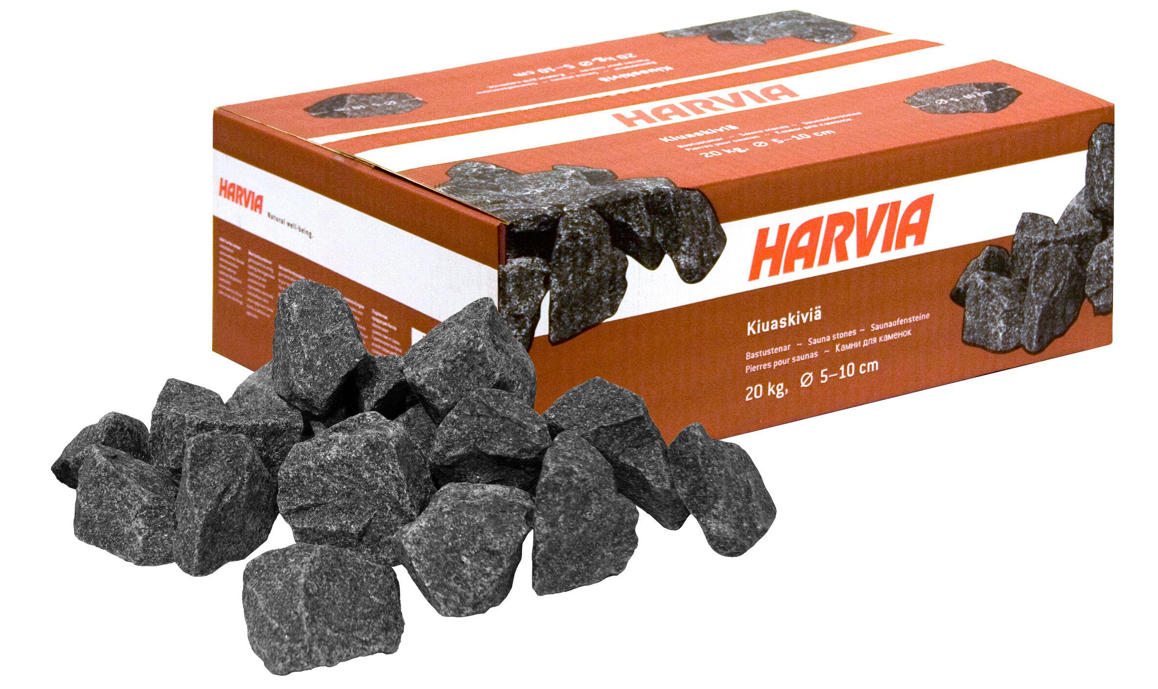 HARVIA Pierres pour poêle électrique 20 kg 5-10 cm