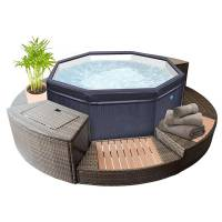 NETSPA Spa portable NetSpa Octopus 6 Places avec Mobilier <br /><b>1499 EUR</b> Top-piscine.com