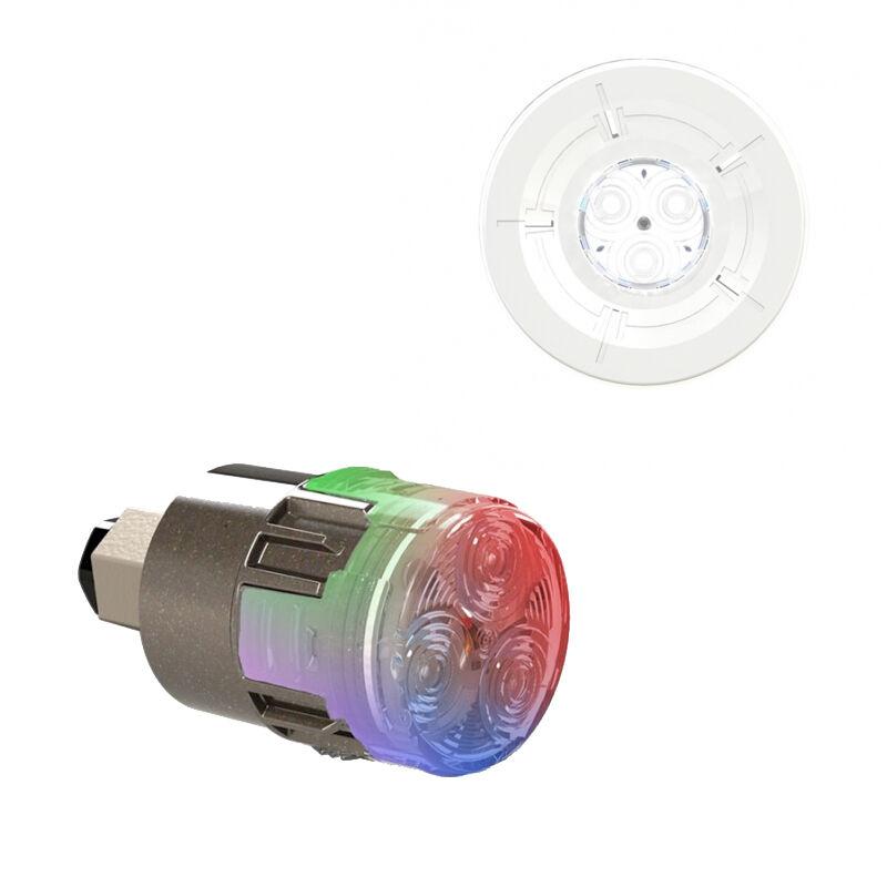 CCEI Projecteur LED couleur Mini-Brio X15 avec enjoliveur Mini-Chroma Blanc