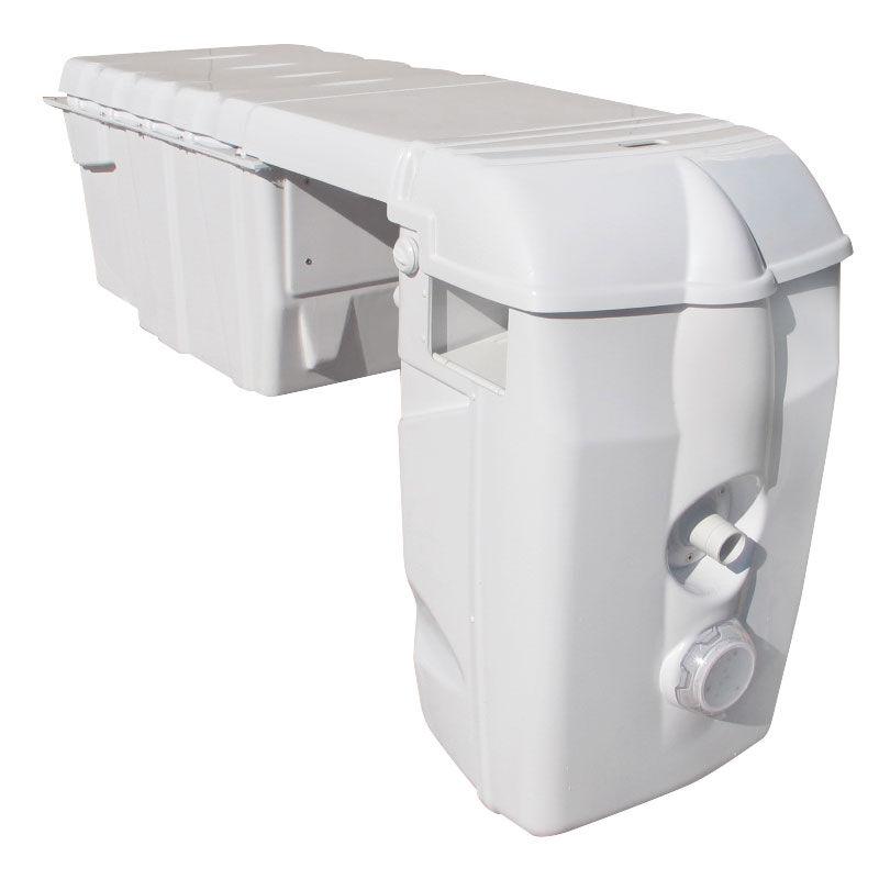 FILTRINOV Groupe filtrant MX18 Modulable avec Nage contre courant et Electrolyseur au sel