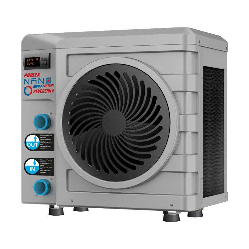 POOLEX Nano Action Réversible R32 pompe à chaleur piscine Poolex