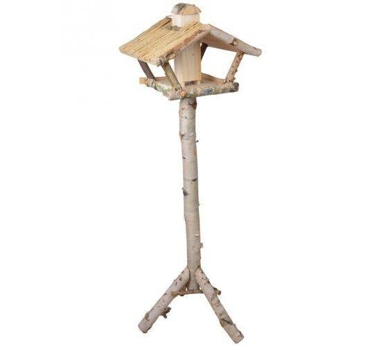 Best For Birds Mangeoire sur pied en boulot avec silo à graines