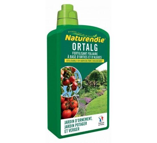 Naturendie Engrais foliaire à base de végétaux et d'algues