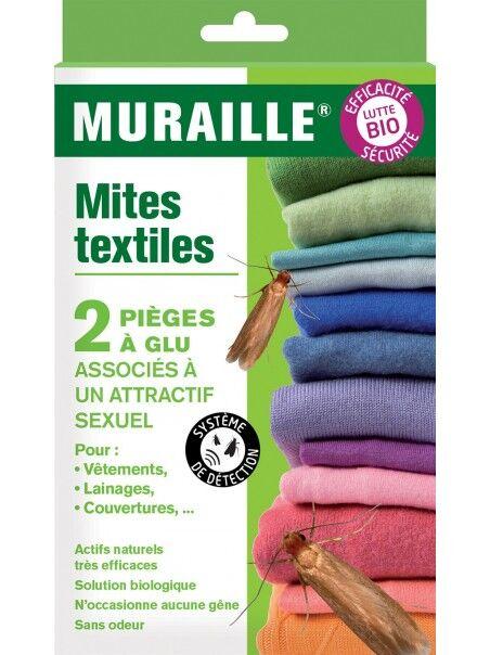 Décamp' Piège à glu Mites des textiles