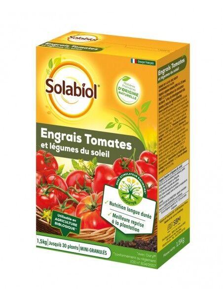 Solabiol Engrais tomates et legumes fruits