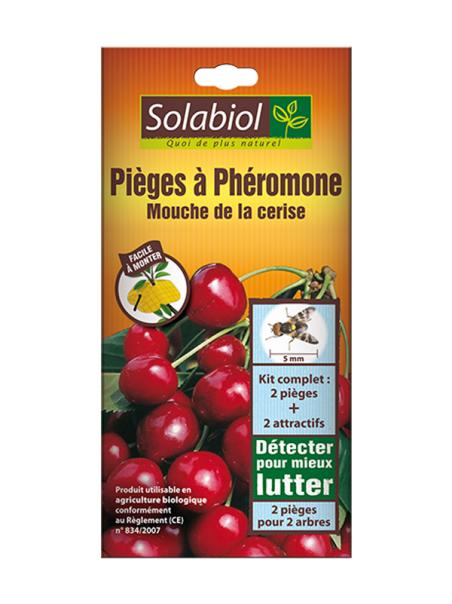 Solabiol Piège à phéromone mouche de la cerise