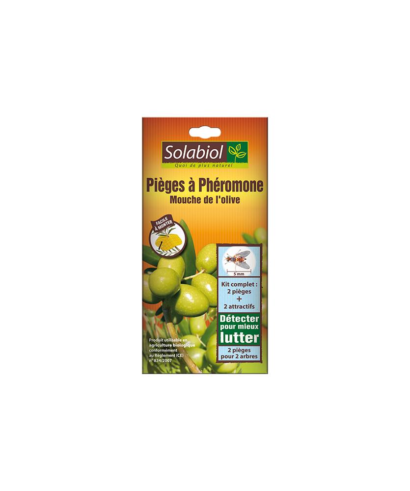 Solabiol Piège à phéromone mouches de l'olive